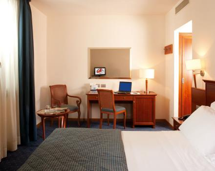 Discover the comfortable rooms at the Best Western Titian Inn Hotel Treviso in Treviso - Silea